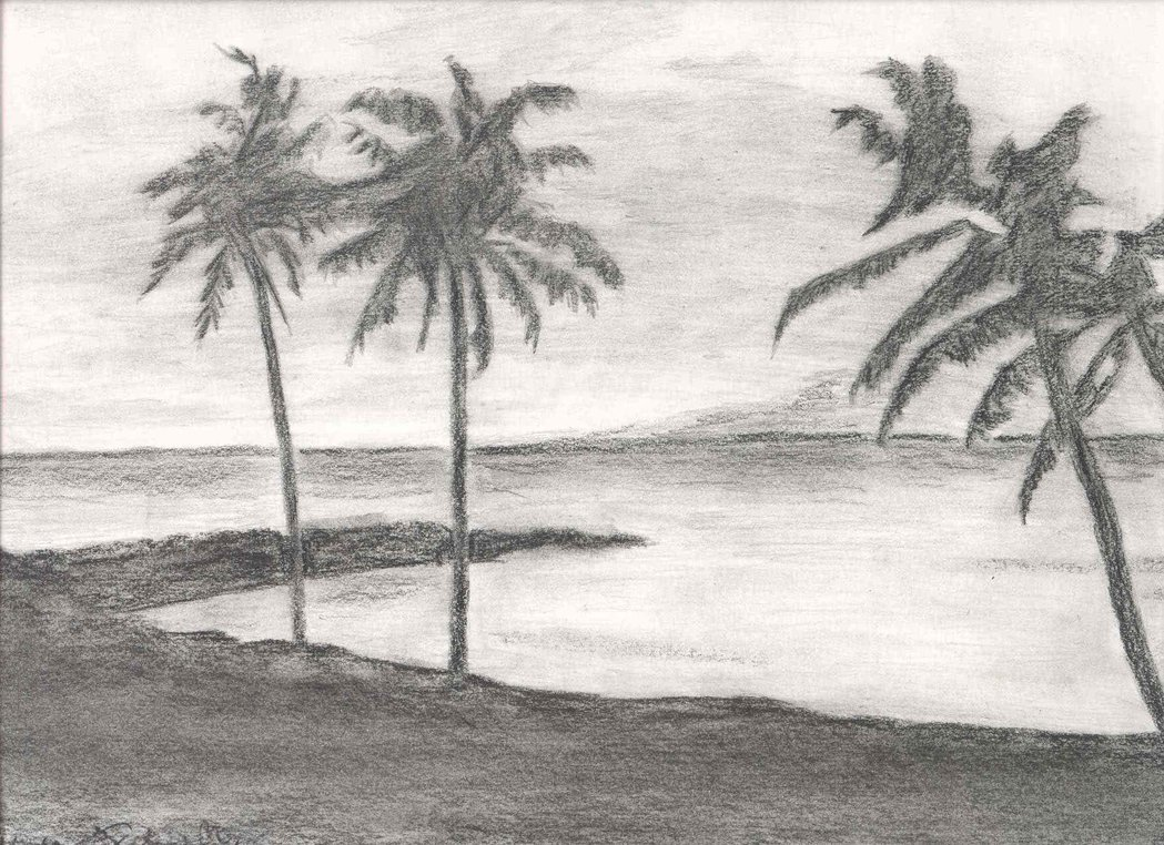 Drawn scenery sketch Drawing ideas drawings ideas drawing