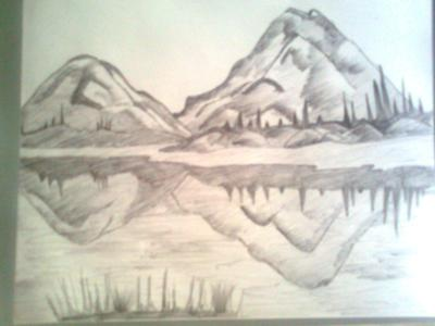 Drawn scenic easy Scenery Collection Of Children Recent