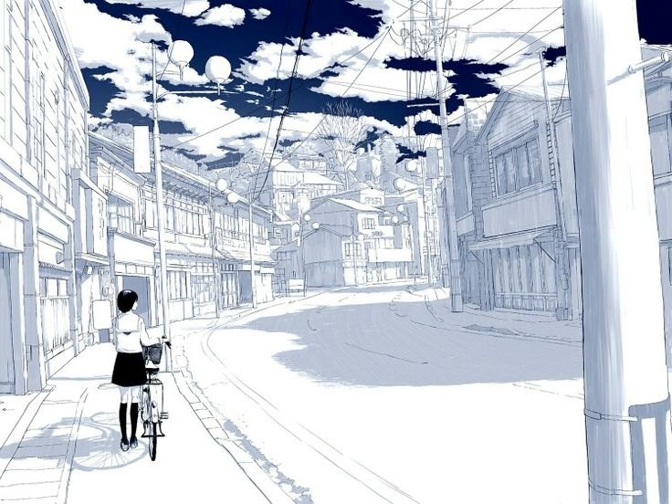 Drawn scenic emotional Pinterest images 145 anime Scenic