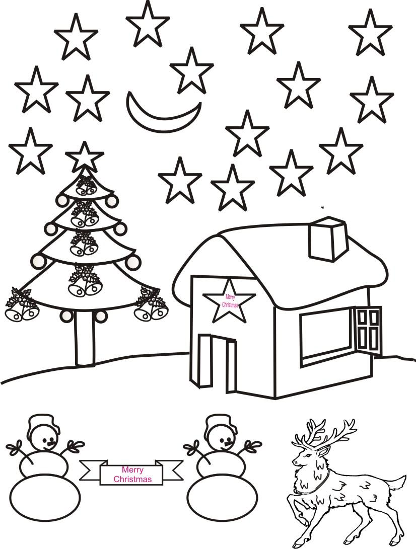 Drawn scenic for kid scenery Scenery best Coloring To Pages