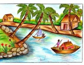 Drawn scenic for kid scenery Easy scenery Photos: Pictures Scenic