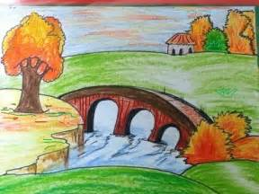 Drawn scenic for kid scenery Kids Scenery Scenic draw scenery