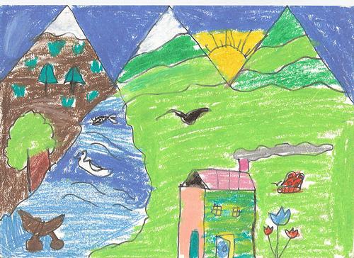 Drawn scenic for kid scenery Scenic Kids Scenic Scenic Photos: