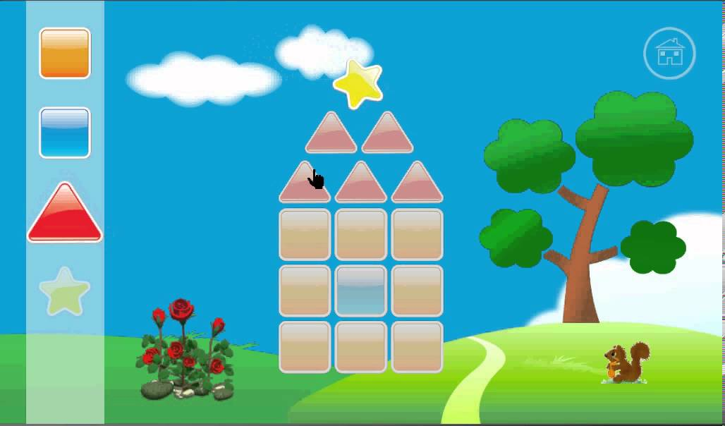 Drawn scenic geometrical shape Shapes YouTube Shapes Kids Kids