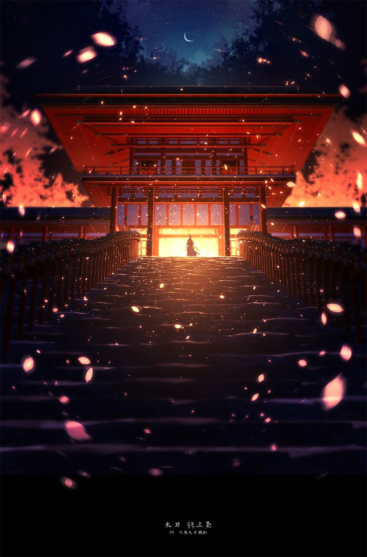 Drawn scenic japanese Pin and on Pinterest on