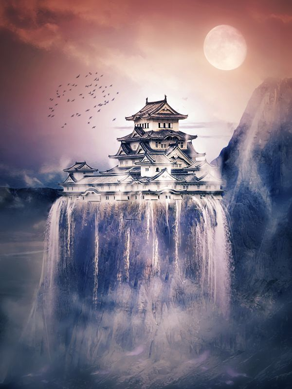 Drawn scenic japanese By lorency com Japanese Japan