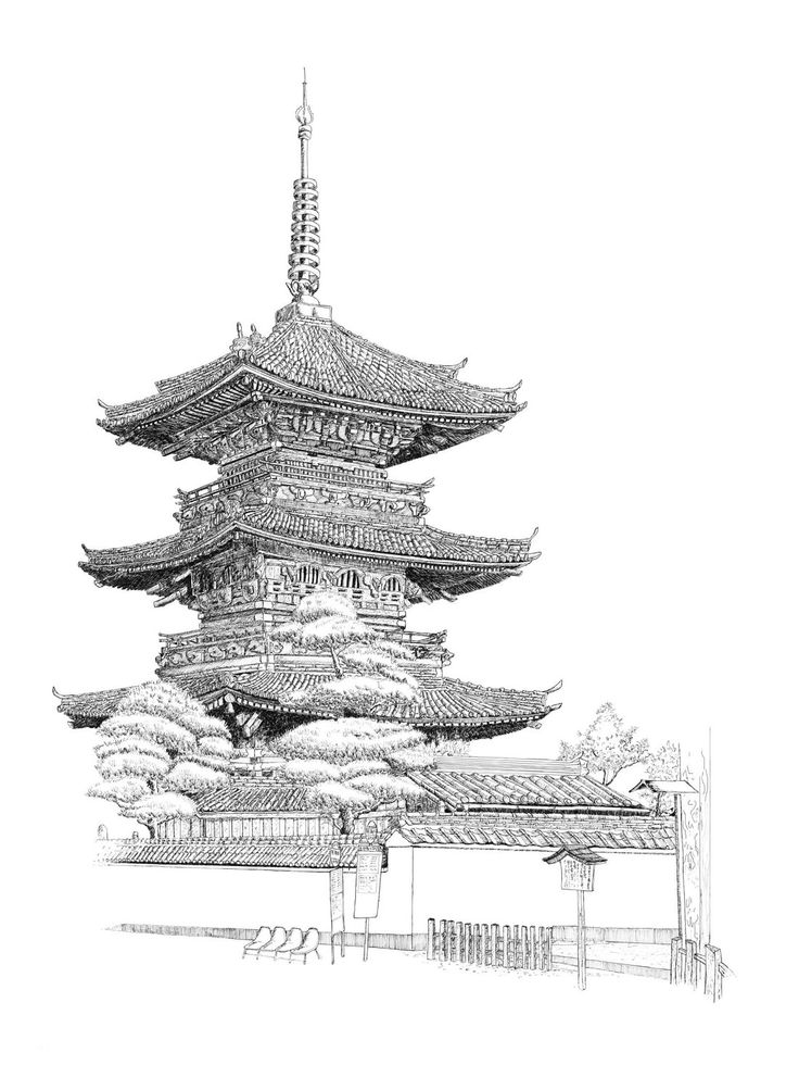 Drawn scenic japanese 238 best images Japanese_Temple_by_superwoman88 on