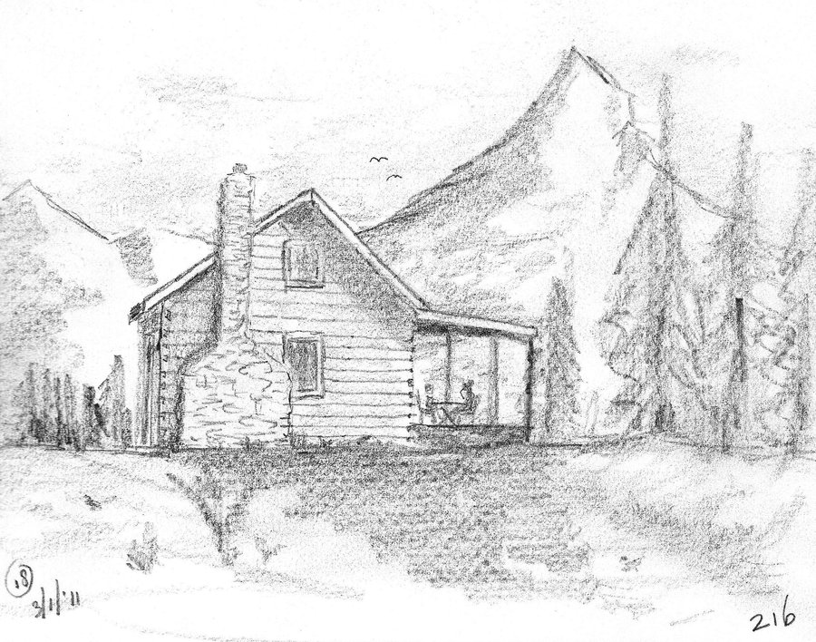 Drawn scenic mountain Search 25 Google on best