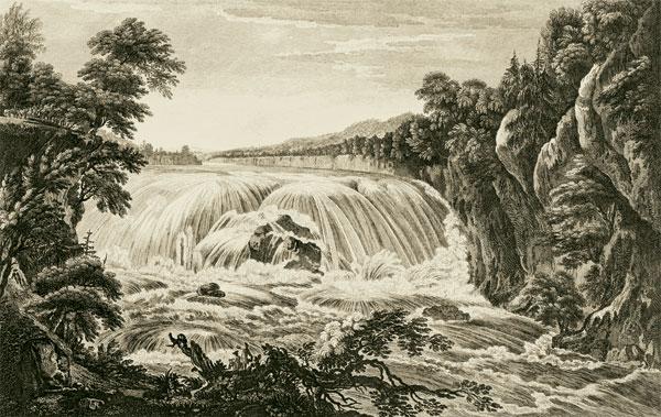 Drawn scenic natural scenery The  into translated Scenographia