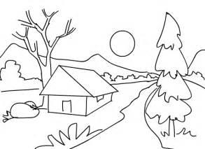 Drawn scenic nice scenery Scenery  page Beautiful Pattern