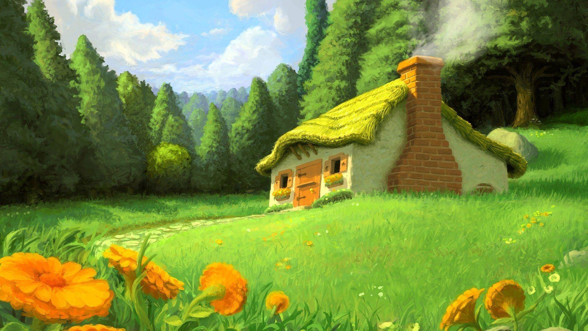 Drawn scenic nice scenery Scenery  Fantasy 178065) Beatrice