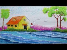 Drawn scenic nirmal How Scenery Pinterest helgah Draw