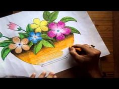 Drawn scenic nirmal Pastels Draw with Version] helgah