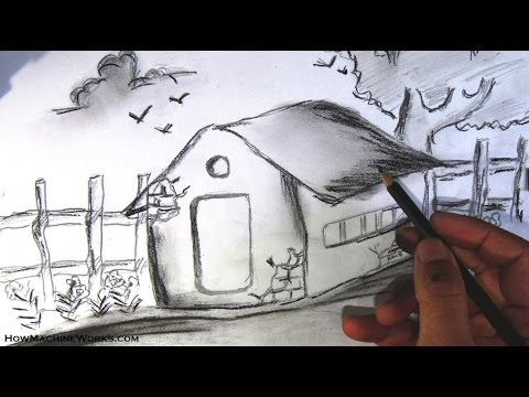 Drawn scenery nirmal With by & Step shading