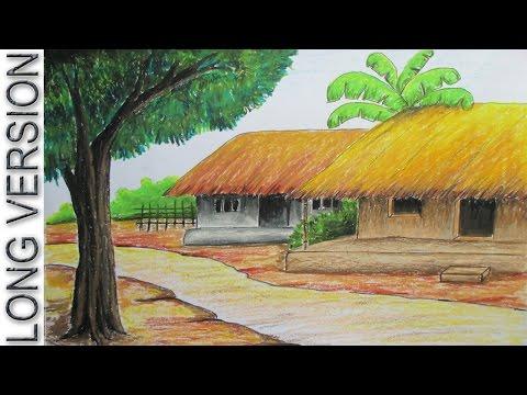 Drawn scenic nirmal Sunset Draw Pastel  YouTube