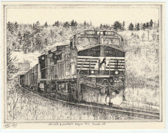 Drawn scenic norfolk Blank pack Southern 9115 notecards