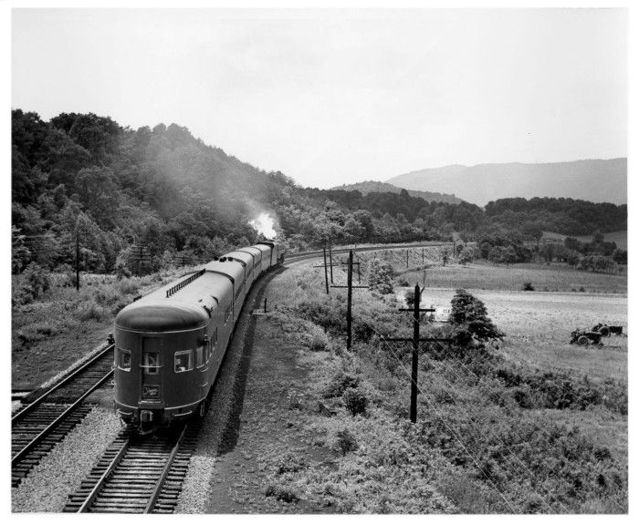 Drawn scenic norfolk The streamliner Western about Arrow