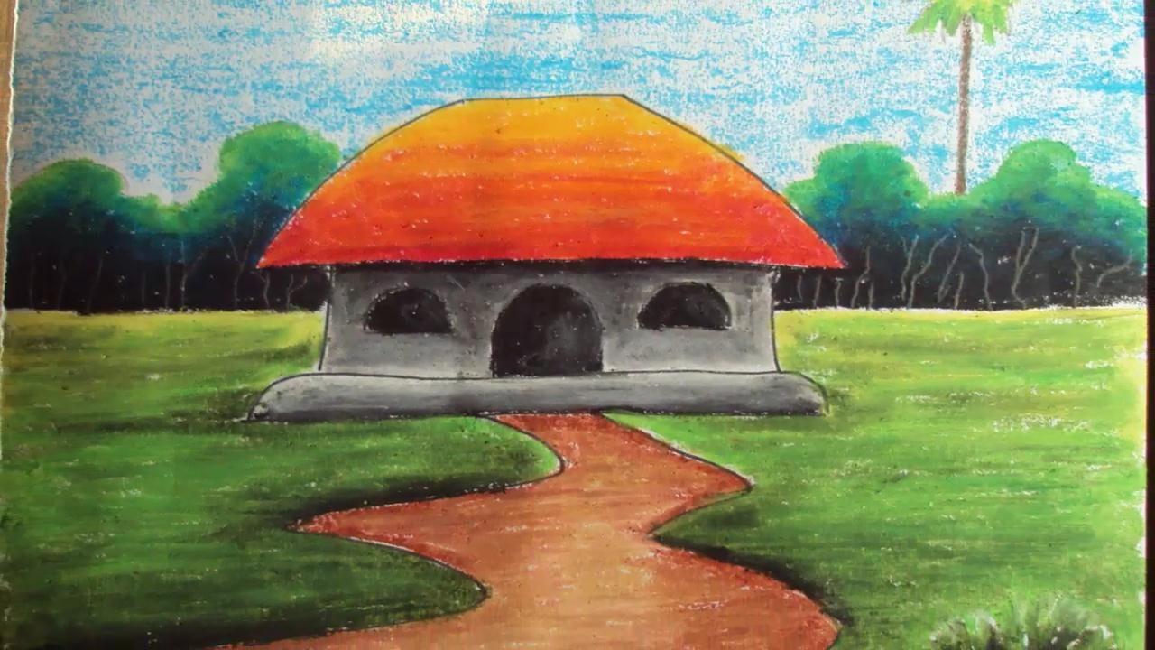 Drawn scenery beginner Draw Easy oil Scenery How