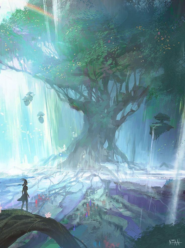 Drawn scenic outstanding Best on Scenic Darkhikarii 75