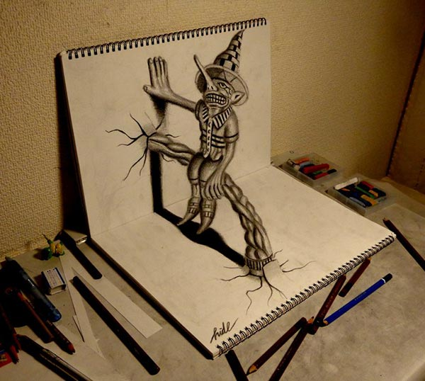Drawn scenic basic Of Drawings Drawing 3D Amazing