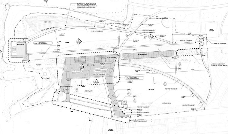 Drawn scenic park playground Board Long Plan Shore Scenic