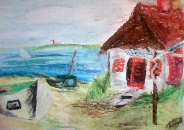 Drawn scenic pastel By on IlikeCats123 pastel :3
