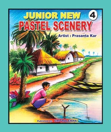 Drawn scenery pastel Pastel Kolkata  Pastel Gallery