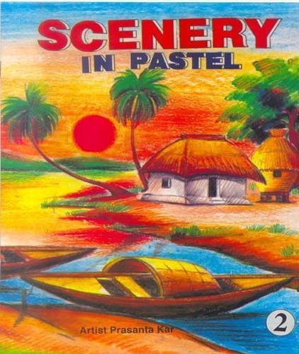 Drawn scenery pastel Pastel Books Scenery Pastel Kids