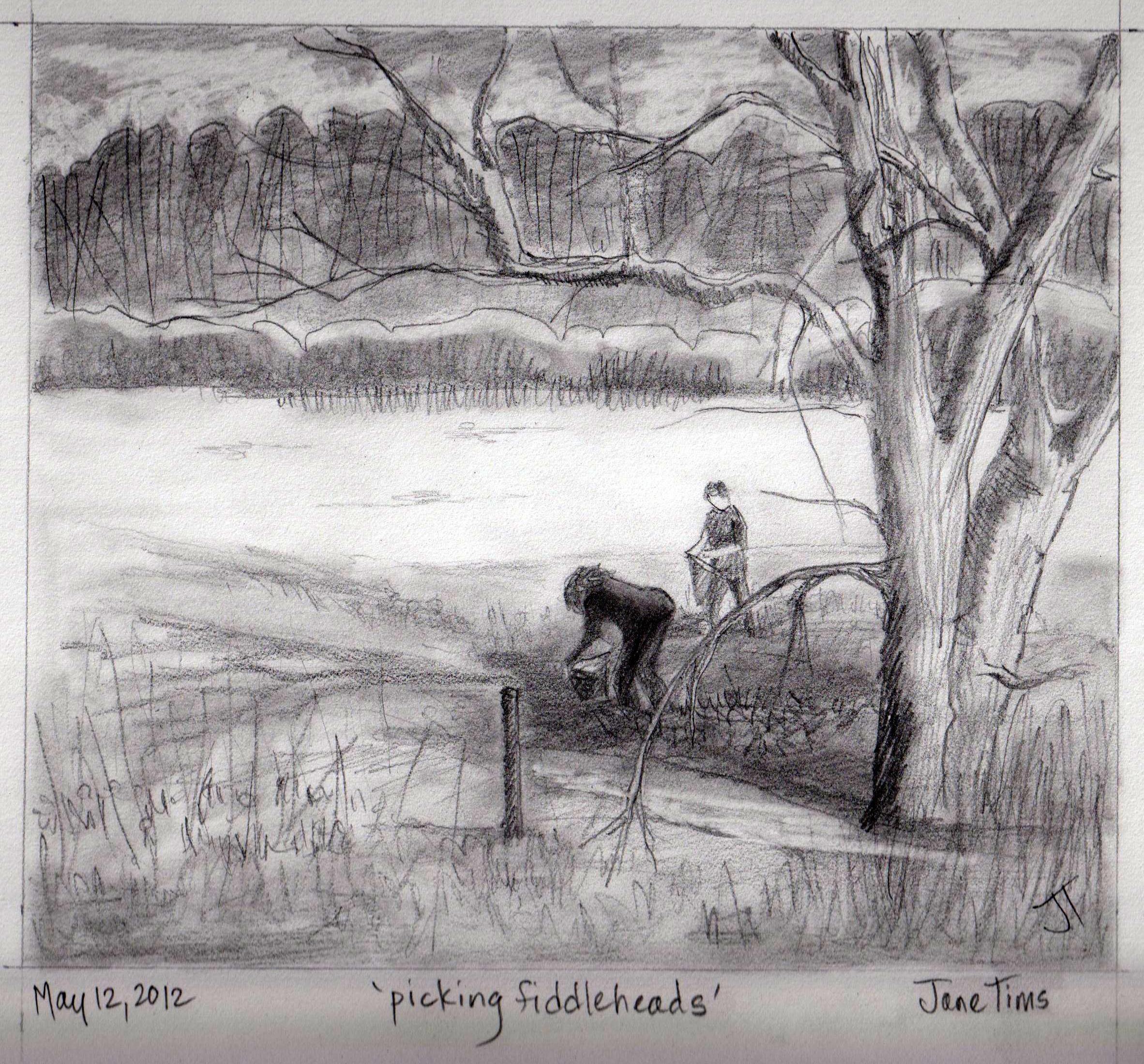 Drawn scenic pencil sketching Of ' of notes nichepoetryandprose
