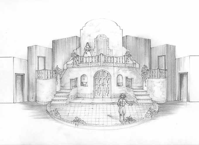 Drawn scenic perspective Images Line Design 159 Preliminary