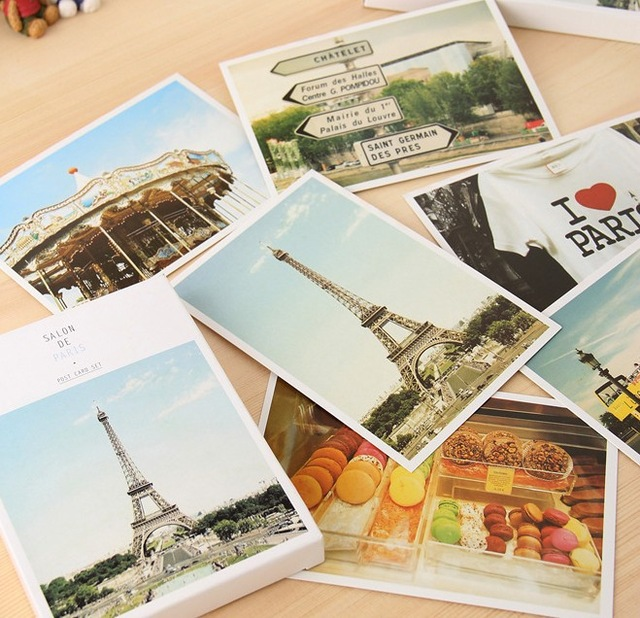 Drawn scenic postcard Postcards/ scenery postcard scenery Drawing