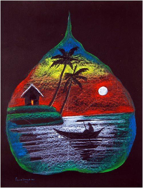 Drawn scenery rangoli Rangoli With Competitions 25 Prashant
