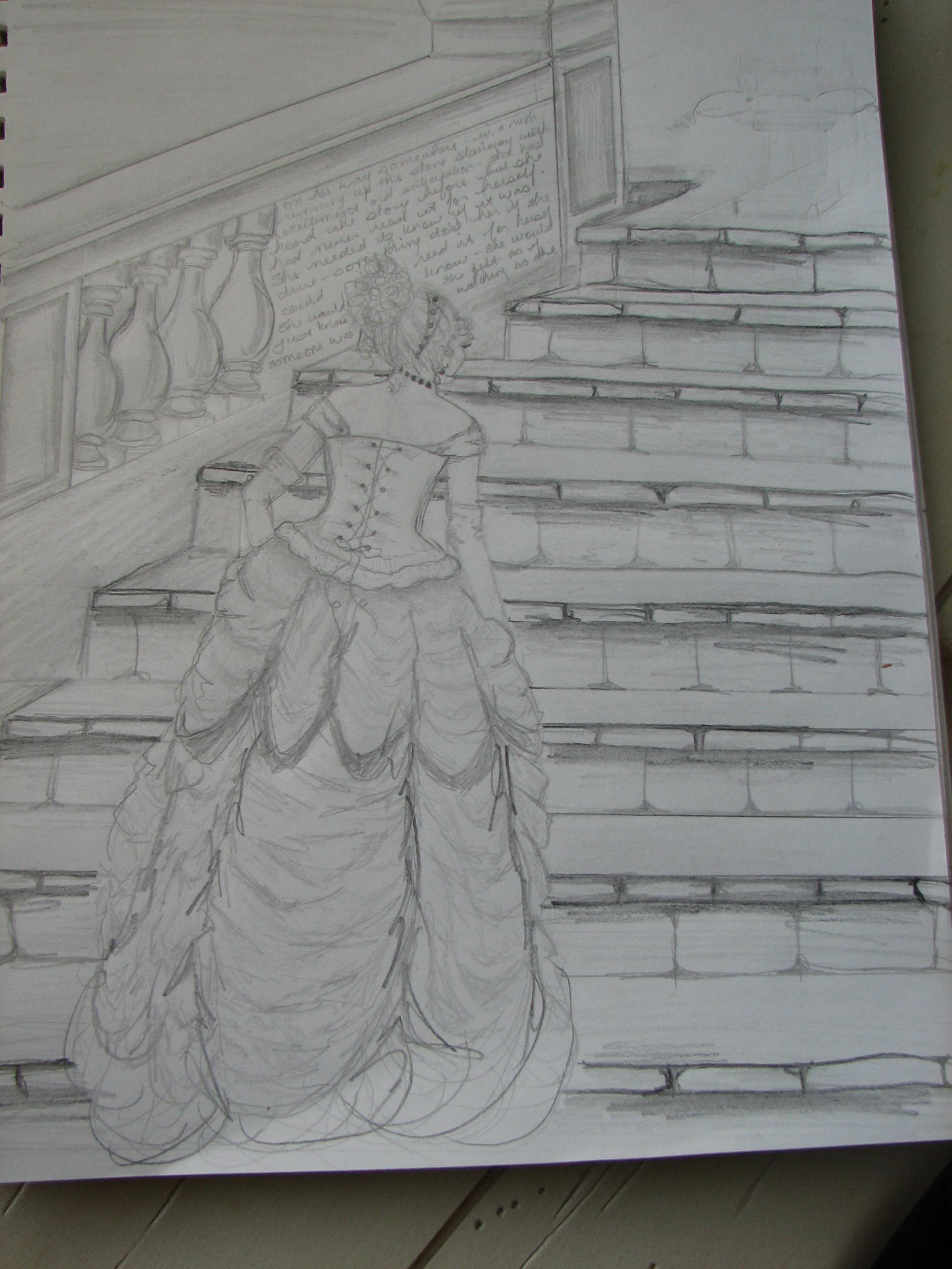 Drawn scenic senary Project of Greatness