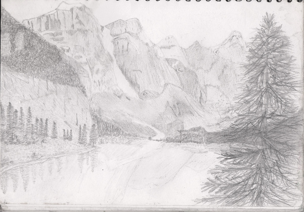 Drawn scenic senery Scenic on by Drawing DeviantArt