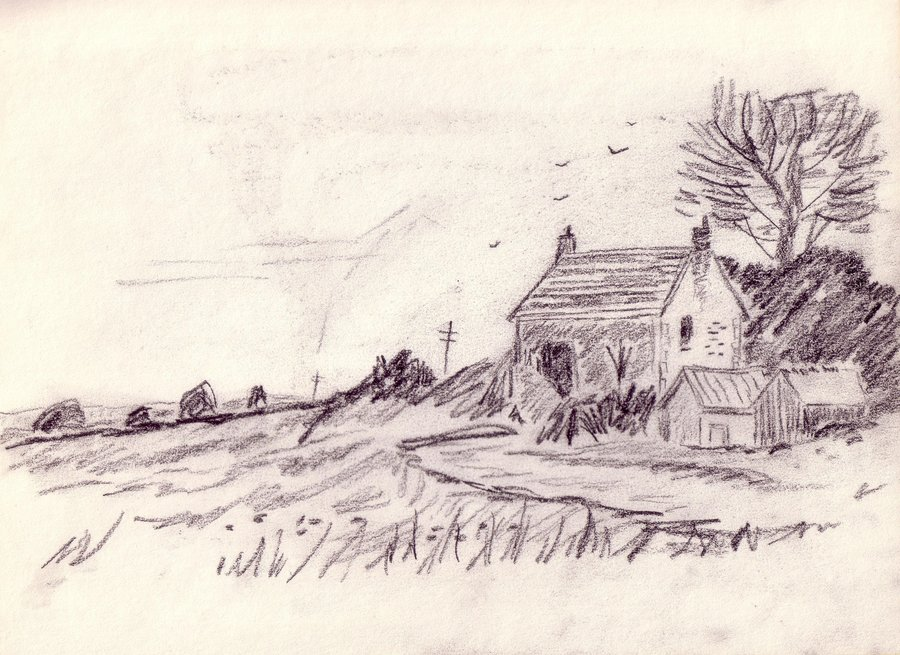 Drawn scenic senery On lupa019 by Drawing Scenic