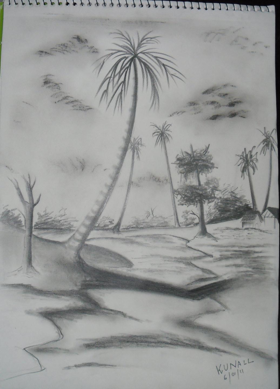 Drawn scenic shading / (Shading) Scenery  FeedForward
