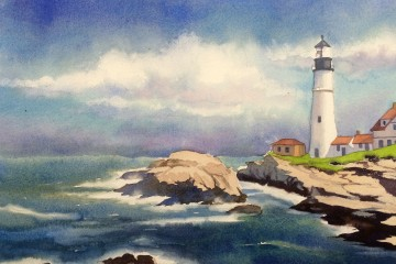 Drawn scenic simple Painting How seascape Updated] Need