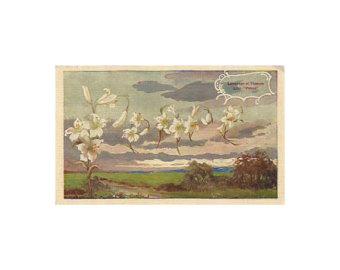 Drawn scenic vintage Drawn 1910 Vintage Peace postcards