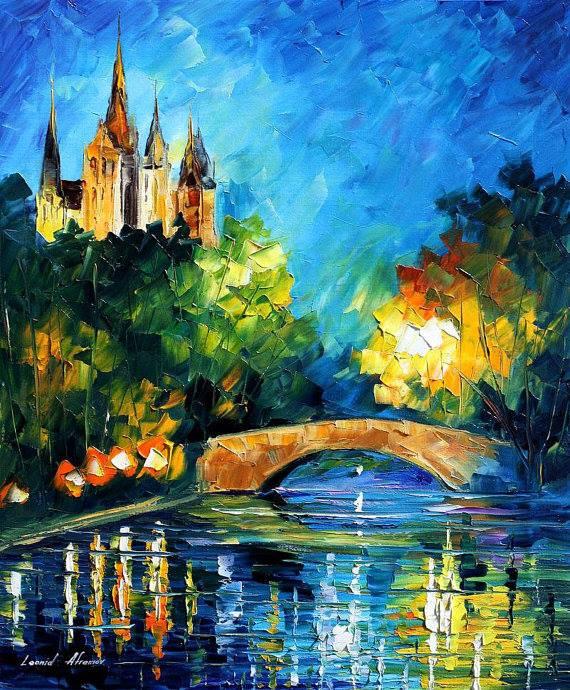 Drawn scenery water colour Using  How scenery KumarSS