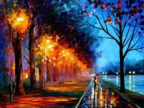 Drawn scenery color Deviantart painting scenery scenery color