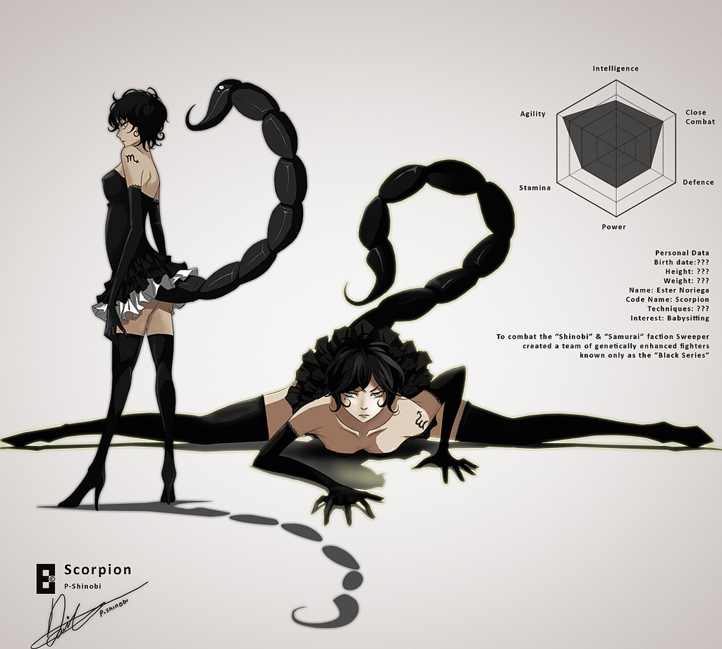 Drawn scorpion anime Clipart Scorpion Pinterest Cartoon Scorpio