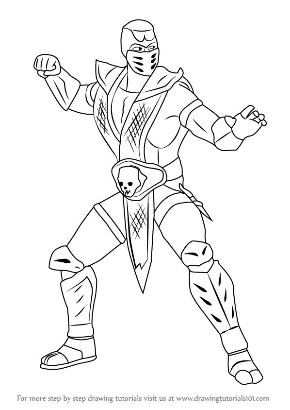 Drawn scorpion anime Draw to Scorpion photo#25 Draw