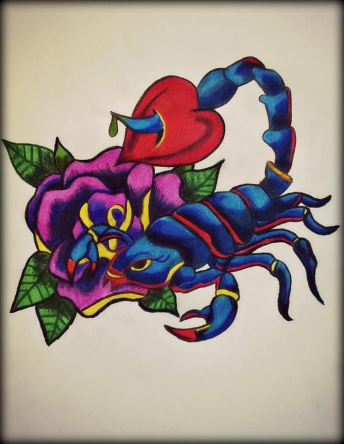 Drawn scorpion graffiti Scorpion Scorpion A Through My