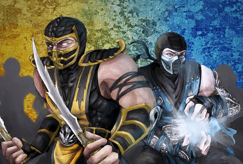 Drawn scorpion sub zero Zero by Scorpion Gallery Krillia