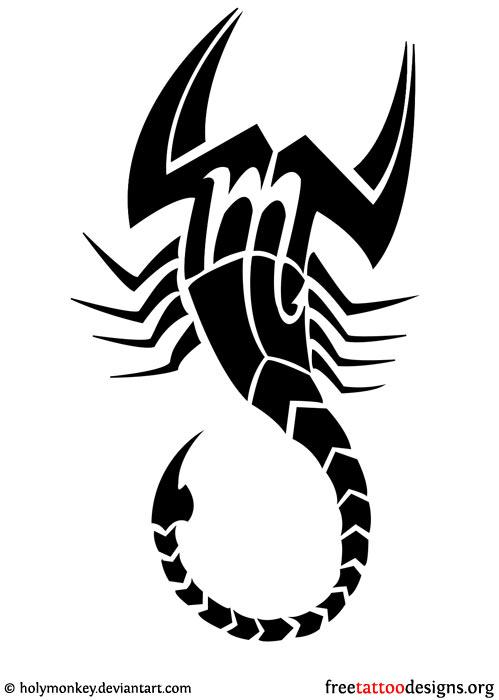 Drawn scorpion tatoo Tattoo tattoo symbol tattoo 99