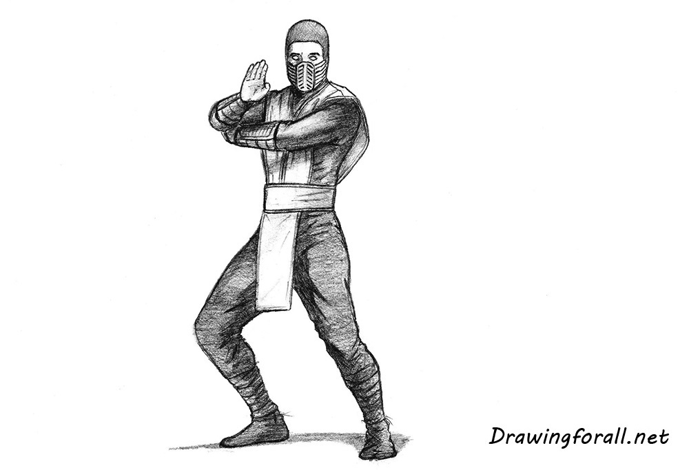 Drawn scorpion two How Scorpion DrawingForAll how net