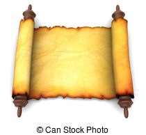 Scroll clipart ancient Of  scroll scroll Drawing