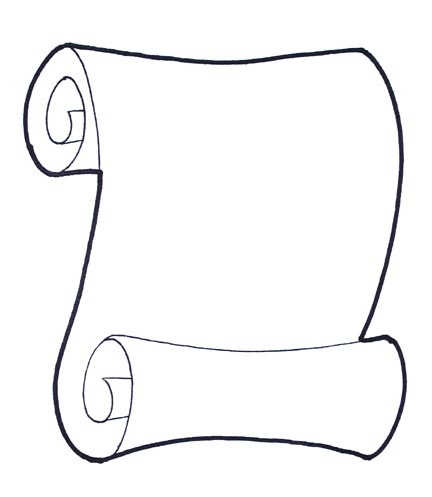 Scroll clipart draw Pinterest on SCROLL about 66