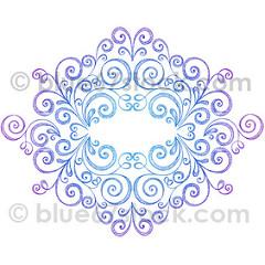 Drawn scroll doodle Frame Illustration blue67design Scroll Hand