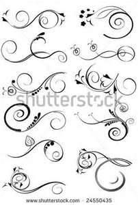 Drawn scroll printable And #templates Scroll scroll designs